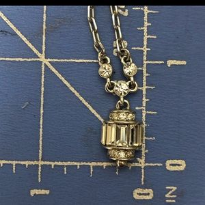 Givenchy Vintage Crystal Lantern Necklace